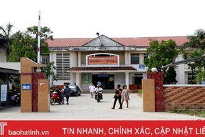 Chưa thực hiện xã hội hóa, bệnh viện Can Lộc gặp nhiều khó khăn