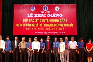 Thêm 35 bác sỹ trẻ tình nguyện về công tác tại huyện nghèo