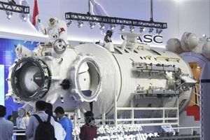 Trung Quốc 'trình làng' mô hình trạm vũ trụ Thiên Cung