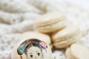 Ngắm dung nhan nàng Ngụy Anh Lạc của Diên Hi Cung trên bánh macaron