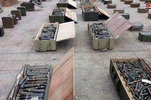 Quân đội Syria tịch thu một loạt vũ khí phương Tây tại pháo đài khủng bố
