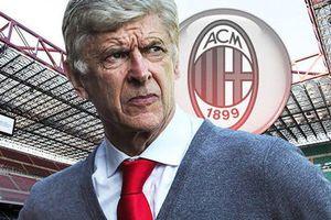 'Giáo sư' Arsene Wenger sẽ trở thành HLV trưởng của AC Milan