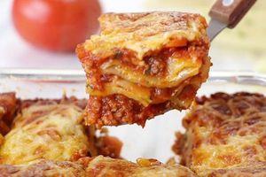 Clip: Thử ngay món Lasagna với cách chế biến đơn giản mà hấp dẫn không ngờ