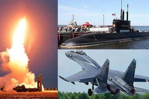 Nga sẽ cung cấp vũ khí hải, lục, không quân cho Trung Quốc