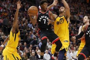 Toronto Raptors tiếp tục có được trận thắng thứ 4 liên tiếp, vững chắc ở ngôi vị đầu bảng
