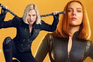 Tạo hình mới sắc sảo như dao găm của Black Widow cắt đứt sự tập trung ở mọi góc nhìn