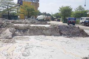 Huyện Bình Chánh (Tp. Hồ Chí Minh) – Bài 1: Nhà máy bê tông Lê Phan hoạt động gây ô nhiễm môi trường, đổ thải trái phép