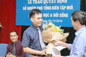 Nhà báo Đặng Vương Hạnh làm phó Tổng biên tập Báo Khoa học & Đời sống