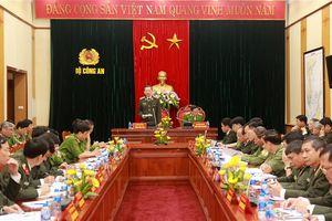 Bộ trưởng Tô Lâm: Hà Nội cần giải quyết nhanh các vụ án năm 2018