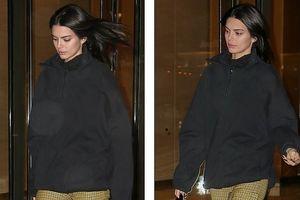 Kendall Jenner mặc 'kín cổng cao tường' rời sàn tập Victoria' Secret