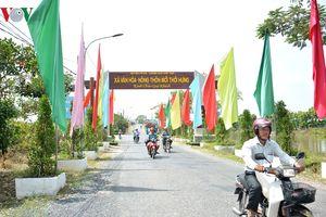 Kinh phí 297 tỷ đồng, xã Thới Hưng đạt chuẩn nông thôn mới