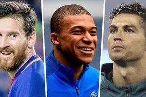 10 cầu thủ đắt giá nhất thế giới: Sao PSG qua mặt Ronaldo và Messi