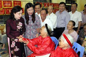 Phó Bí thư Thường trực Thành ủy Ngô Thị Thanh Hằng: Củng cố khối đoàn kết toàn dân, chung tay xây dựng khu dân cư