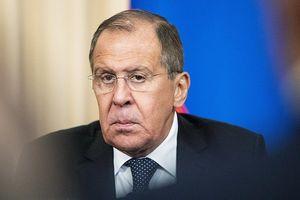 Ông Lavrov: Các cuộc không kích của Israel đe dọa mạng sống binh sĩ Nga tại Syria