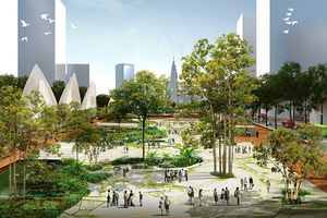 Xin ý kiến Bộ Chính trị về xây dựng Quảng trường Hồ Chí Minh tại Thủ Thiêm