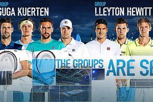 Nadal rút lui, ATP Finals chia Djokovic và Federer ra 2 bảng