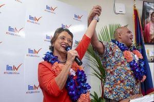 Bầu cử giữa kỳ Mỹ: Guam lần đầu có nữ thống đốc