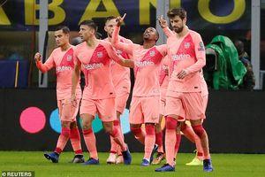 Hòa Inter 1-1, Barca cầm chắc vé vào vòng knock-out Champions League