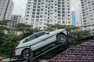 Khả năng off-road của Porsche Cayenne
