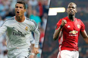 Pogba: 'Ronaldo ghi bàn dễ như uống nước vậy'