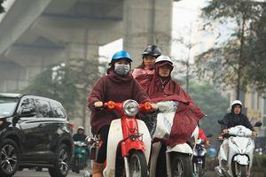 Hà Nội trời chuyển lạnh kèm mưa giúp chất lượng không khí được cải thiện