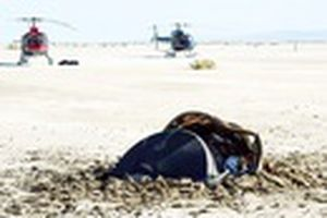 Sự thật về 'đĩa bay người ngoài hành tinh' rơi xuống sa mạc tại Mỹ