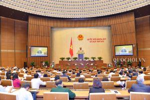Quốc hội nghe báo cáo về dự án Luật Thi hành án hình sự (sửa đổi)