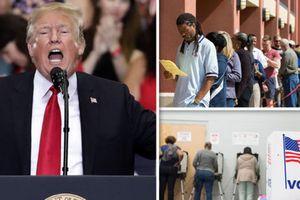Bầu cử giữa kỳ Mỹ: Những kết quả bất ngờ gây sốc đầu tiên