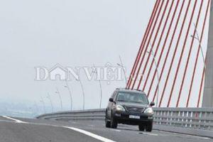 Quảng Ninh: Sớm khắc phục mặt cầu Bạch Đằng nhưng phải đảm bảo kỹ thuật