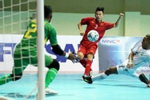Tuyển futsal Việt Nam giành vé vào bán kết
