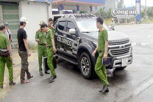 Cảnh giác thủ đoạn trộm tài sản ô-tô dừng nghỉ ven đường