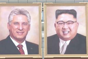 Triều Tiên lần đầu treo ảnh chân dung ông Kim Jong-un ở nơi công cộng
