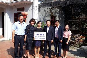 Thêm một 'Mái ấm công đoàn' đến với cô giáo trường THPT Bắc Thăng Long
