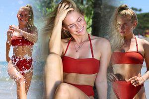 Đường cong nóng 'bỏng mắt' của người mẫu Jo Orthey