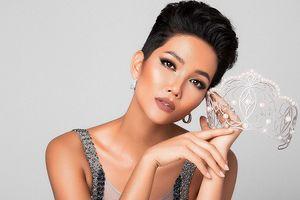 Bộ ảnh của H'Hen Niê 'gây bão' trang chủ Miss Universe