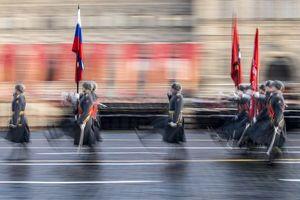 Hùng tráng sự kiện tái hiện lễ duyệt binh lịch sử trên Quảng trường Đỏ