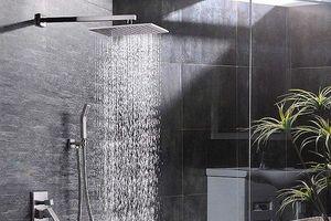 Vòi tắm hoa sen: Nơi ẩn náu ổ vi khuẩn khó ngờ