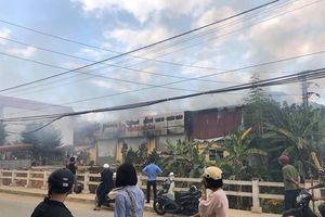 Cháy xưởng in ở trung tâm TP Lạng Sơn