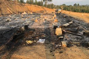 Điều tra nguyên nhân vụ cháy nhà sàn rộng 120m2