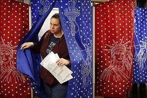 Hé lộ những kết quả đầu tiên của cuộc bầu cử giữa kỳ tại Mỹ