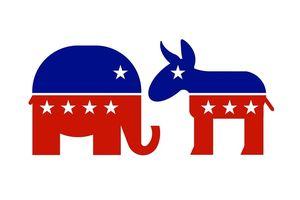 Vì sao biểu tượng của đảng Dân chủ là con lừa còn đảng Cộng hòa là con voi?