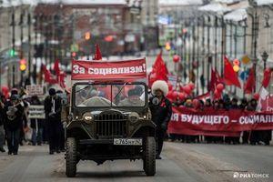 Nga kỷ niệm Cách mạng Tháng Mười, tái hiện cuộc diễu binh huyền thoại 1941
