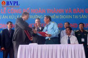 Xử lý xong phần đất nhiễm chất độc dioxin tại sân bay Đà Nẵng do Hoa kỳ hỗ trợ 110 triệu USD