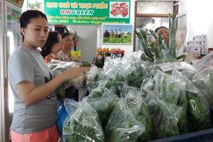 Hà Nội với Ngày hội 'Sản phẩm xanh - Thực phẩm sạch'