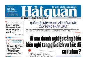 Những tin, bài hấp dẫn trên Báo Hải quan số 134 phát hành ngày 8/11/2018