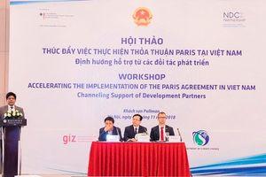 Cộng đồng quốc tế giúp Việt Nam thực hiện tốt Thỏa thuận Paris