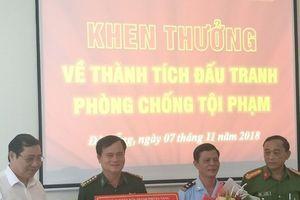 Chủ tịch TP.Đà Nẵng khen thưởng ban chuyên án bắt 8 tấn ngà voi và vảy tê tê