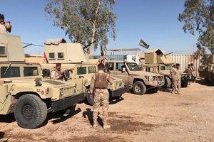 Quân đội Iraq triển khai lực lượng diệt IS tại biên giới Syria