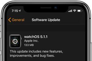 Apple vội vàng tung watchOS 5.1.1 'giải cứu' Apple Watch
