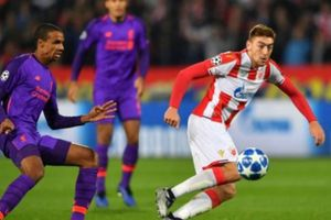Thua trận, Liverpool nguy cơ bị loại sớm tại Champions League